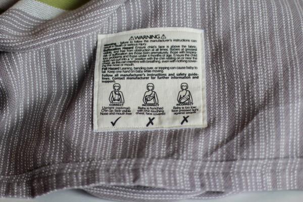 Uppywear warning lable