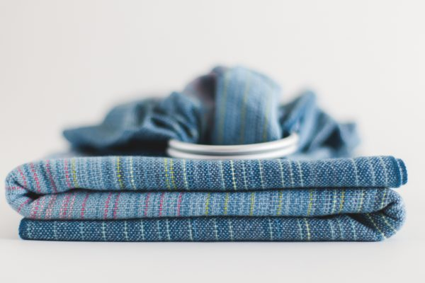 Collective Ringsling Grey Cotton Weft