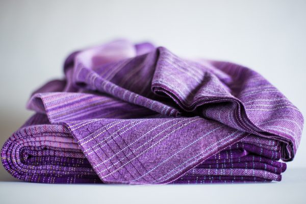3.4m lavender cotton weft