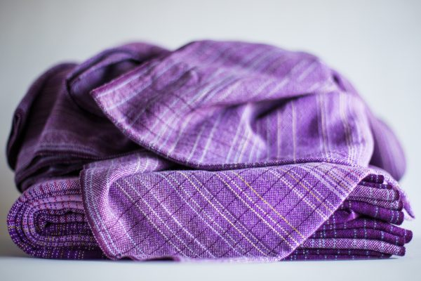 3.9m lavender cotton weft