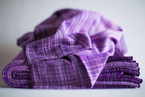 4.1m lavender cotton weft