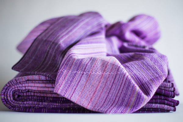 4.2m cotton purple weft