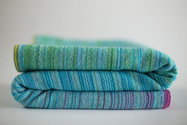 linen blue weft