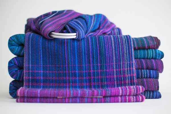 Ring Sling Royal Cotton Weft
