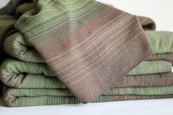 Cotton 3.8m, Olive Weft, Folded Thread MM