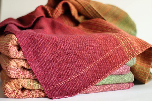 4.6m, Cotton, Dark Weft, Pinstripe (red,yellow) MM