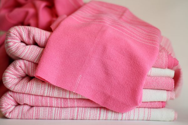 4.0m, Pink Cotton weft, Folded Thead MM