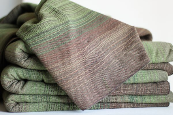 Linen (20%), 4.6m Olive Weft, Folded Thread MM