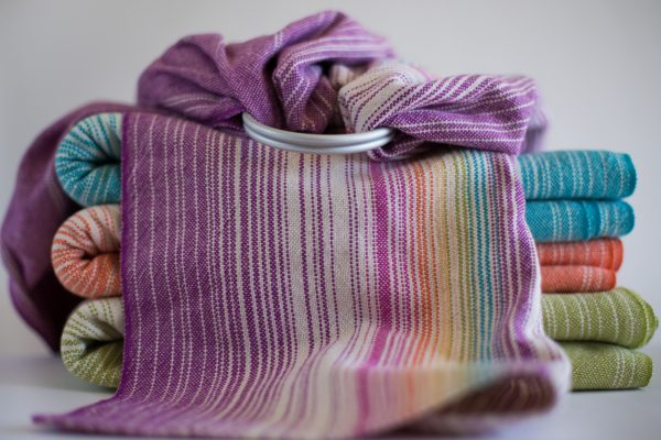 Merlot Ringsling Linen