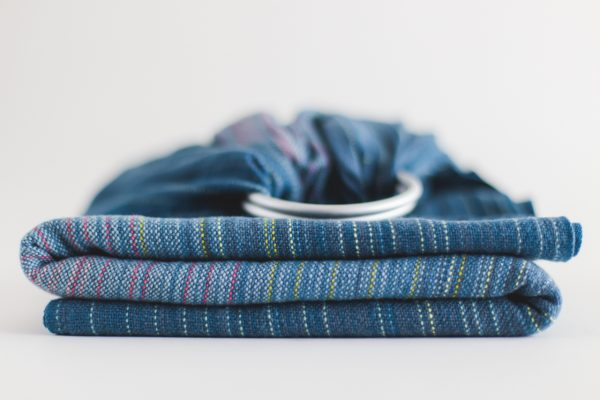 Collective Ringsling Navy Cotton Weft