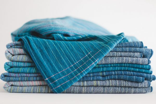 Collective 3.4m Peacock Linen Weft