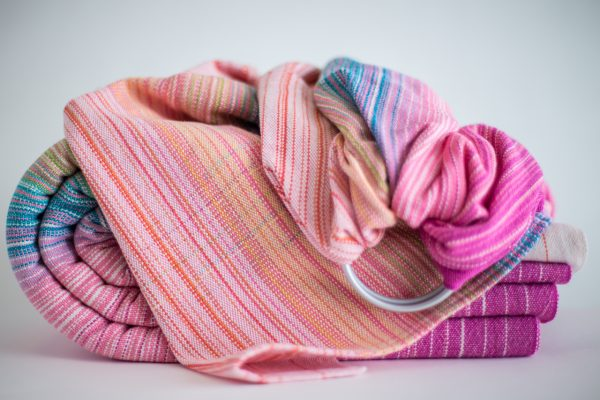 Ringsling Light Pink Cotton Weft