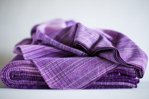 3.4m lavender cotton weft