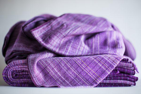 3.9m lavender cotton weft