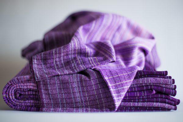 4.1m lavender cotton weft