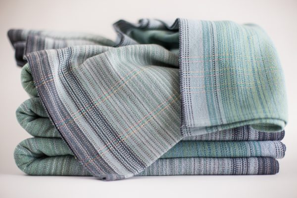 4.7m cotton teal weft