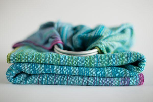 2.2m Blue Linen