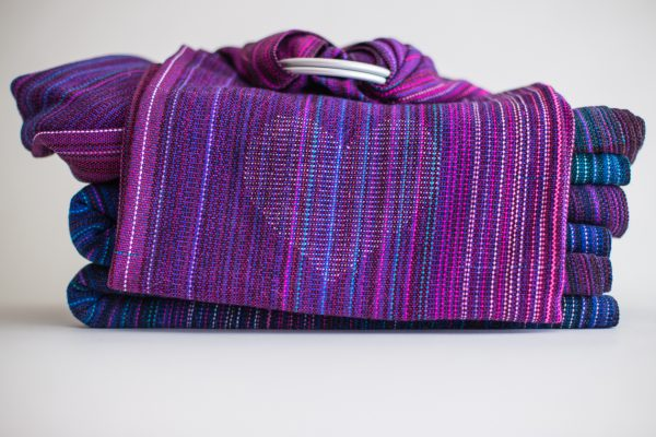 Ring Sling Fuchsia Cotton Weft